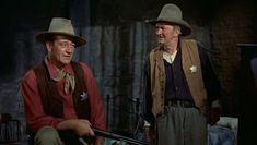 "John Wayne - Une scène de Rio Bravo avec Walter Brennan (On m'dit jamais rien à moi)"" - 1959"