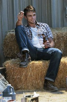 From Hart Of Dixie - wade. I know I shoul really think go perfect george as Riley West and yet...all I see is wade.