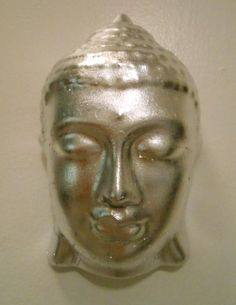silver leaf on sale Now at store in Ny Southampton NY Healing Meditation, Southampton, Buddha, Kitty, Statue, Artwork, Silver, Little Kitty, Work Of Art