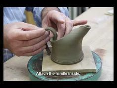 ▶ BEGINNER'S POTTERY: Making a small jug - YouTube