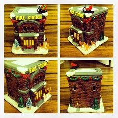 Ceramic haunted house I painted | My Creations | Pinterest | Craft