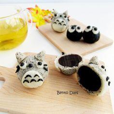 Totoro mooncakes