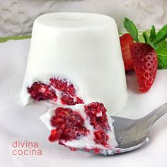 Cocina – Recetas y Consejos Jello Recipes, Mexican Food Recipes, Sweet Recipes, Dessert Recipes, Mini Desserts, Just Desserts, Delicious Desserts, Yummy Food, Sweet And Salty