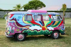 This van would fit in at Nimbin
