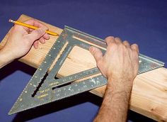 How To Use A Speed Square: Five Jobs for This Classic Tool from the DIY