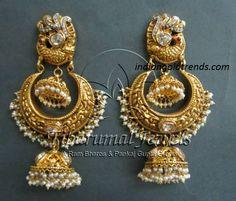 jhumka bali earrings - Google Search