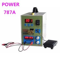 72.60$  Buy now - http://aliiv6.worldwells.pw/go.php?t=2028564328 -  POWER 787A+ MCU Spot Welder Battery Welder Applicable Notebook and Phone Battery Precision Welding Pedal 72.60$