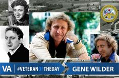 Famous Veterans born on June 11th include American actor, screenwriter, director, producer, singer-songwriter and author... and of course what most would argue was the best #WillyWonka - #GeneWilder!   Wilder was drafted into the Army on September 10, 1956. At the end of recruit training, he was assigned to the medical corps and sent to Fort Sam Houston for training. Fort Sam Houston, Famous Veterans, Washington High School, Bachelor Of Arts, September 10, Screenwriting, Us Army, American Actors, Iowa
