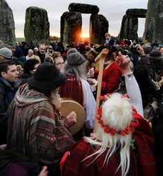 How to celebrate the summer solstice: For thousands of years, the summer solstice has been worshipped and celebrated at Stonehenge, near Salisbury, England. Today, thousands of Druids and others gather at the sacred site, which is open for free to the public, to greet the rising sun on the longest day of the year. Throughout the night, people play music, perform rituals and party till dawn. @Kalyn Vanoni