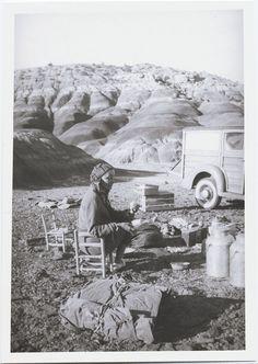 camping with georgia o'keeffe