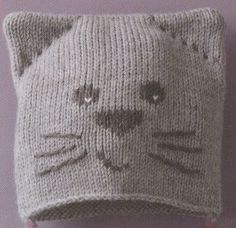 Best 10 Doing knitting according to a cat knit hat pattern is easy a fo … – SkillOfKing. Free Knitting, Baby Knitting, Knitting Patterns, Sewing Patterns, Free Sewing, How To Start Knitting, Knitting For Beginners, Knitted Blankets, Knitted Hats