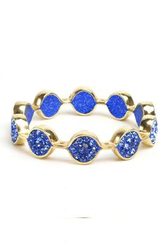 Marquis Bangle In Cobalt.