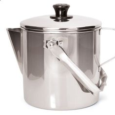 Camping Kettle - Zebra Stainless Steel Camp Kettle - 14cm - The best billy on the market. Very heavy duty stainless steel construction