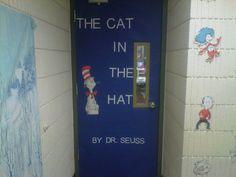 My door to my classroom for Dr. Seuss' birthday! =) <3 room 202!