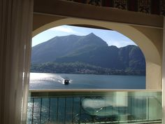 View from our room at the Hotel Bellagio. Beautiful Places In The World, Most Beautiful, Through The Window, Lake Como, At The Hotel, Wedding Locations, Our Wedding, Destinations, Italy
