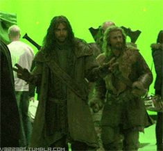 Kili and Fili  ...  The party don't start till i walk in:)