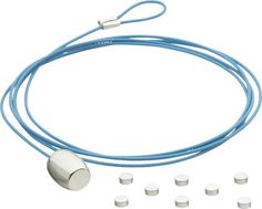 blue cable photo cord  | CB2