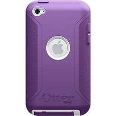OtterBox Defender Case for iPod touch (4th gen.), Purple/White APL2-T4GXX-B3-E4OTR