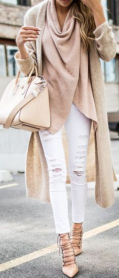 Layered Neutrals Fall Inspo by Hello Fashion