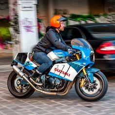 Gsxr 1100 Custom Street Bikes, Custom Bikes, Suzuki Motorcycle, Motorcycle Gear, Gsxr 1100, Stunt Bike, Custom Cafe Racer, Suzuki Gsx, Retro Bike