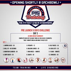 Half way through! Will you be a winner or a quitter? #PreLaunch #FitnessChallenge #F45