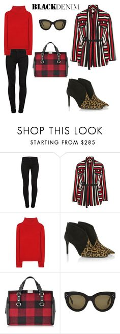 """""""ch-ch-changes"""" by vkrene on Polyvore featuring J Brand, Étoile Isabel Marant, Vanessa Bruno Athé, Prada, Dsquared2, CÉLINE, women's clothing, women's fashion, women and female"""