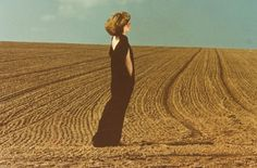 Evening Horizon, The Black - photo by Guy Bourdin, 1976 http://www.nomad-chic.com/