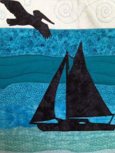 Wall-hanging quilt blocks inspired by life on the emerald coast of NW Florida. gulfcoastquilts.com