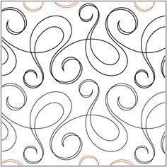 Quilt Stencils By Natalie Gorman Bossa Nova 7.5in
