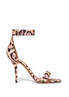 Givenchy Retra leopard-print textured-leather sandals