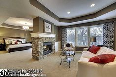 Plan 73343HS: Storybook House Plan With 4 Car Garage