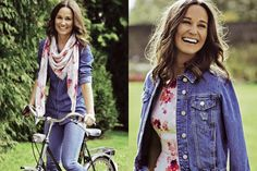 Pippa Middleton collaborated with Tabitha Webb on two pieces to be sold in aid of the British Heart Foundation (June 2015).
