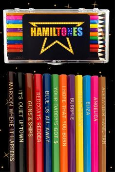 Hamilton colored pencils now available. Limited supplies.