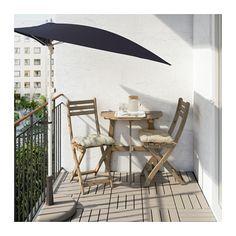 ASKHOLMEN Balkontisch+2 Klappstühle/außen  - IKEA