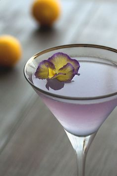 Aviation Classic Cocktail Recipe by HonestlyYUM Check out more recipes like this! Visit yumpinrecipes.com/