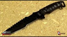 MTech Xtreme MX-8062BK Tactical Fixed Blade Knife Product Video