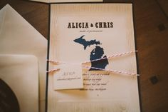 Michigan Wedding Invitation Work By House Of Phidias Client In 2018 Pinterest Invitations And