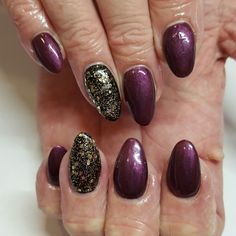 Autumn gel nails