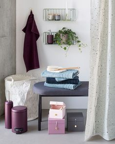 Beautiful surroundings calm the mind Anna says as she arranges the lovely selection of new items for the bathroom. Prices from DK… - New Deko Sites New Item, Bathroom Wall, Floating Nightstand, My Dream Home, The Selection, Mindfulness, Calm, Anna, Interior Design