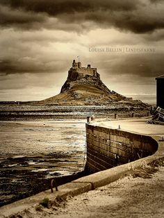 Holy Island, Lindisfarne, England  Other wise known as 'Mont St. Pierre' in the Scarlet Pimpernel!
