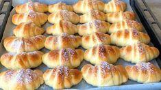 Croissants, Pan Dulce, Easy Bread, Strudel, Hot Dog Buns, Hot Dogs, Churros, Bread Rolls, Pretzel Bites