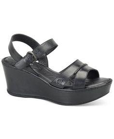 Born Tayen Platform Wedge Sandals