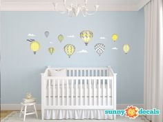 35 Best Hot Air Balloon Themed Nursery Kids Room Images Kids