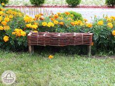 Ágyásszegély , Kerti szegély 20x120 cm - Kosárfutár Texture, Wood, Garden, Crafts, Sweet, Surface Finish, Candy, Garten, Manualidades
