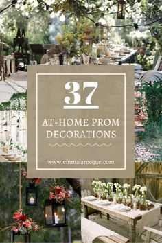 37 Creative Ideas For Having Prom At Home - Emma Larocque Girl College Dorms, College Hacks, College Life, Senior Prom, Senior Year, High School Graduation Gifts, Prom Themes, Prom Decor, Thing 1