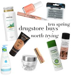 Our 10 Favorite Spring Drugstore Buys!