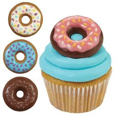 Wilton DONUTS DOUGHNUTS Chocolate Candy Mould Party Baking Decorating Sugarcraft…