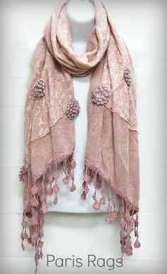 Scarf from Paris Rags Gypsy Chic, Gypsy Style, My Style, Pink Outfits, Fashion Outfits, Womens Fashion, Rags Clothing, Pink Closet, Classic Handbags
