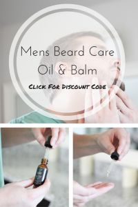Mens Beard | Beard Care | Mens Beard Oil | Mens Beard Balm | Mens Gifts | Mens Stocking Stuffers | #LovelyBeards #ad