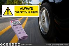 Did you know that the maximum tire pressure is  somewhere between 30 and 32 PSI. Having more or less may cause serious problem such risk of your braking threshold and the decrease of its quality and much more, the jeopardy of your love ones. Be sure to monitor tire pressure. Learn more about these  #safetyfirst #tires #airpressure